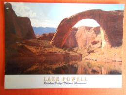 ETATS UNIS - LAKE POWELL, Pont De L'arc En Ciel - Rainbow Bridge National Monument - Lake Powell