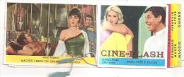 60183) Calendarietto Del 1967 Cine-Flash - Calendari