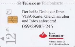 TWK Deutschland Telekom Visa, Gebraucht - Deutschland