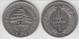 **** LIBAN - LEBANON - 1 LIVRE 1981 CEDRE **** EN ACHAT IMMEDIAT !!! - Liban