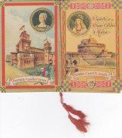 """CALENDARIETTO DEL BARBIERE  """"CASTELLI E DONNE CELEBRI D'ITALIA"""" 1949 -2-0882-17627-626 - Small : 1941-60"""
