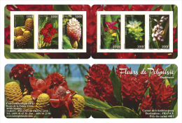 Polynésie 2012 - Fleurs, Orchidées - Carnet Neuf // Mnh Booklet - Polynésie Française
