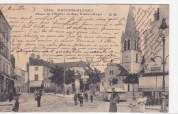 21968 Maisons Alfort Place De L'Eglise Et Rue Victor Hugo 3542 EM - Pissotiere Vespasienne Café Jourd?n Kub - Maisons Alfort