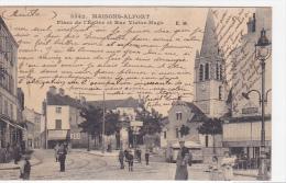 21968 Maisons Alfort Place De L'Eglise Et Rue Victor Hugo 3542 EM - Pissotiere Vespasienne Café Jourd?n Kub