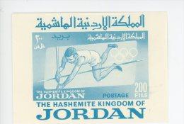 Jordanie-1964-JO Tokyo-Saut à La Perche-YT 11***MNH-NON Dentelé - Sommer 1964: Tokio