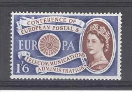 GREAT BRITAIN - Yv. Nr 358 (Mi 342) - MNH** - Cote Michel 10,00 € - 1952-.... (Elizabeth II)