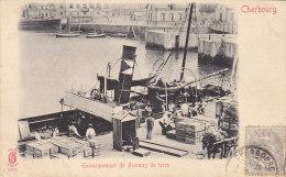 CPA - CHERBOURG - Embarquement De Pommes De Terre. - Cherbourg