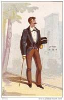 LA MODE MASCULINE EN 1879. BEURDELEY A TONNERRE ET A CHABLIS. REF 13614 - Andere