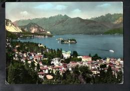 H2821 Lago Maggiore, Stresa E Le Isole - Annullo Arona 1959 - Nice Stamp, Bel Francobollo Gemellaggio Roma Parigi - Italie