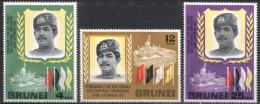 Brunei - Mi-Nr 127/129 Postfrisch / MNH ** (n587) - Brunei (1984-...)
