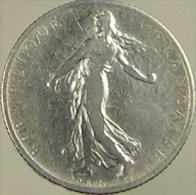 France - 1 Franc - Semeuse - 1904 - Roty - TB - Argent - H. 1 Franc