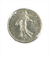 France - 1 Franc - Semeuse - 1910 - Roty - TB+ - Argent - H. 1 Franc