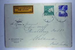 Netherlands: Early Airmail Cover Zeist To Weltevreden Dutch East Indies, 1926 NVPH 206+LP5 - Period 1891-1948 (Wilhelmina)