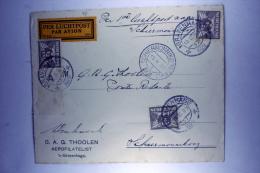 Netherlands:  Airmail Cover IJSVLUCHT Nr 15, Cancel On 15 Flight On 16 Feb.1929 To Schiermoninkoog (Iceflight) - Period 1891-1948 (Wilhelmina)