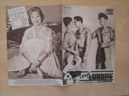 Das Neue Filmprogramm Cafe Europa GI Blues Elvis Presley Juliet Prowse Kino Film Programm Cinema - Magazines