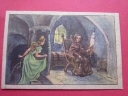 KOLLNFLOCKEN SIND VOLLKORNFLOCKEN GRIMMS MARCHEN  Bild 14 Série Allemande > Contes De Grimm Allemagne Chromo Image - Schokolade
