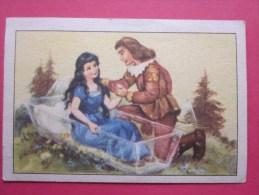 KOLLNFLOCKEN SIND VOLLKORNFLOCKEN GRIMMS MARCHEN  Bild 30 Série Allemande > Contes De Grimm Allemagne Chromo Image - Schokolade