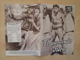 Das Neue Filmprogramm Flammender Stern Elvis Presley Dolores Del Rio Kino Film Programm Cinema - Magazines
