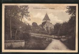 CPA Payroux, L'Eglise - Frankrijk