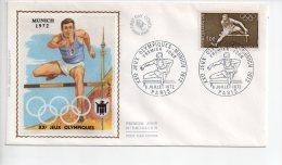 REF A1   : Enveloppe Premier 1er Jour FDC First Day Cover Jeux Olympiques Munich Munchen - Non Classificati