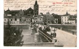 "Bellissima Cartolina D´epoca (formato  Piccolo)     ""  VERONA  -  Ponte  Navi  "" - Verona"