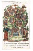 """IMAGE RELIGIEUSE Colorisée, 15,4 X 9 Cm, """"Kreugniez Chrilfi"""" - Images Religieuses"""