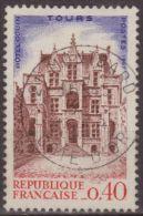 Francia 1967 Scott 1182 Sello º Goüin House Tours Congreso Filatelico Federacion Francesa 0,40F France Stamps Timbre - France