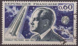 Francia 1967 Scott 1184 Sello º Robert Esnault Pelterie Satelite A1 60c France Stamps Timbre Frankreich Briefmarke - Francia