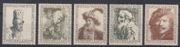 Nederland 1956 Mi#672-676 Mint Hinged - Neufs