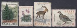 Greece 1970 Mi#1049-1052 Mint Hinged - Unused Stamps