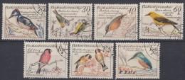 Czechoslovakia 1959 Birds Mi#1163-1169 Used