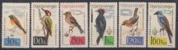 Czechoslovakia 1964 Birds Mi#1495-1500 Mint Hinged