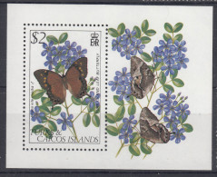 Turks And Caicos Islands Butterfly 1982 Mi#Block 35 Mint Never Hinged - Turks & Caicos (I. Turques Et Caïques)