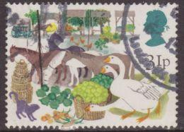 Gran Bretaña 1983 Scott 1034 Sello º Fauna Ferias Britanicas Antiguo Feria Mercado 31p Great Britain Stamps Timbre - 1952-.... (Elizabeth II)