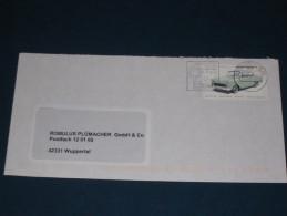 1993 Osnabrück Weihnachten Weihnachtsmarken  Brief Cover Germany Sonderstempel Werbestempel  Nachnahme - Machine Stamps (ATM)