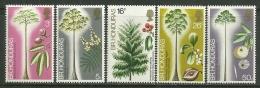 "British Honduras    ""Hardwood Trees""    Set   SC# 301-05  MNH** - British Honduras (...-1970)"