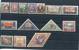 TANNU TUVA YR 1927,SC 15-28,MLH *,DIFFERENT TUVA SCENES - Tuva