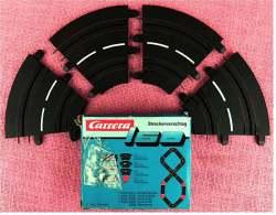Carrera 160  -  4 X 63501 Kurve 0/45 Grad - Andere Sammlungen
