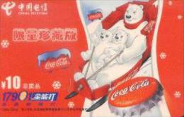 China Telecom Prepaid Cards: Coca Cola (1pcs) - Cina