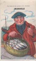 MARSEILLE ( Au Fond De Mon Panier...) - Cartoline Con Meccanismi