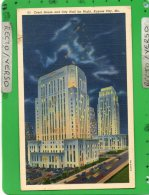 KANSAS CITY COURT HOUSE AND CITY HALL BY NIGHT - Kansas City – Missouri