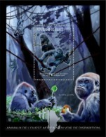Guinea. 2012 Gorilla. (229b) - Gorillas