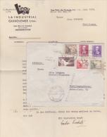 ESPAGNE - 1939 - ENVELOPPE De SAN FELIU DE GUIXOLS (GERONA) Avec RARE CENSURE Pour TUTTLINGEN (GERMANY) - TIMBRE URGENT - Nationalists Censor Marks