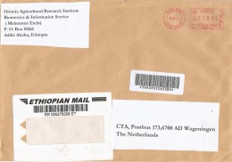Ethiopia 2011 Addis Ababa Pitney Bowes-GB A900 Series EPS1 00200 Meter Bar-coded Franking Registered Cover - Ethiopië