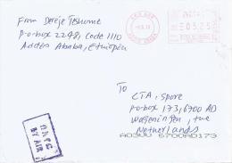 Ethiopia 2013 Addis Ababa Pitney Bowes-GB A900 Series EPS1 00206 Meter Franking Cover - Ethiopië