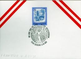 OSTERREICH  -   SAN  FRANCESCO  DI  ASSISI - Cristianesimo