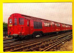 LONDON TRANSPORT UNDERGROUND STANDARD TUBE STOCK TRAIN 1934 CENTRALLINE METRO TREIN LOCOMOTIVE LOCOMOTIEF ZUG TRENO 1186 - Metro