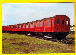 LONDON TRANSPORT UNDERGROUND STOCK 1920 METROPOLITAN LINE METRO TUBE TRAIN TREIN LOCOMOTIVE LOCOMOTIEF ZUG TRENO 1199 - Metro