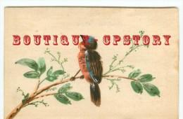 OISEAUX  - Carte Dessinée Illustrateur < Oiseau - Bird  Bird´s - Dos Scanné - Vögel