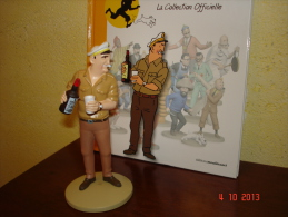 EDITION MOULINSART   ALLAN PROVOQUE HADDOCK DANS TINTIN COKE EN STOCK - Tintin